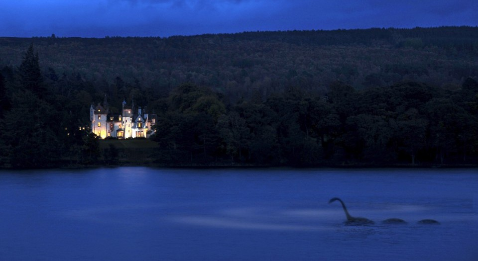 Aldourie Castle Loch Ness Monster