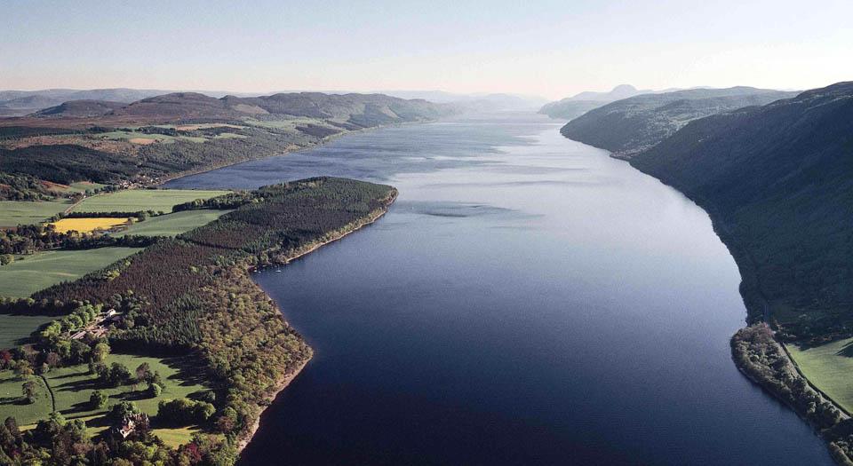 Loch Ness Scotland - Aldourie Castle Estate