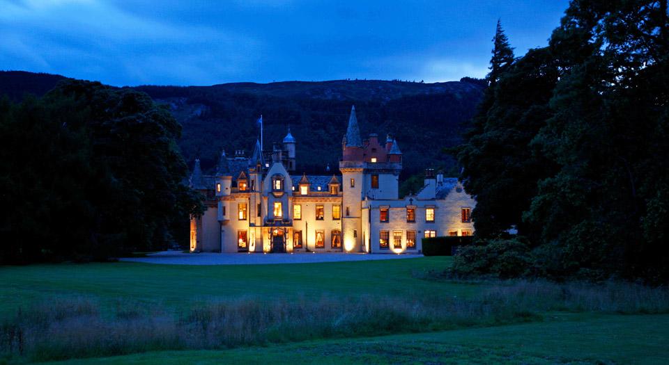 Scottish Castle Exclusive Hire | Aldourie Castle Loch Ness ...