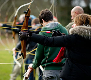 Archery at Aldourie Castle