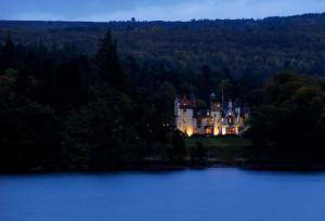 Aldourie castle on Loch Ness