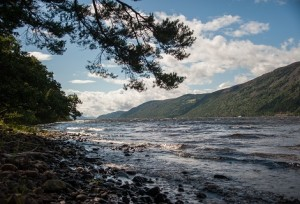 Scottish Highlands and Loch Ness shoreline Aldourie Castle Estate Exclusive Use