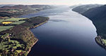 loch ness birds eye view
