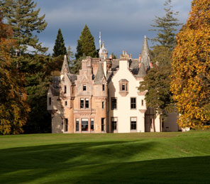 Aldourie Castle and parkland spring |Exclusive Use property Loch Ness
