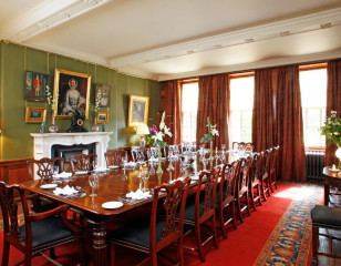 Aldourie dining room