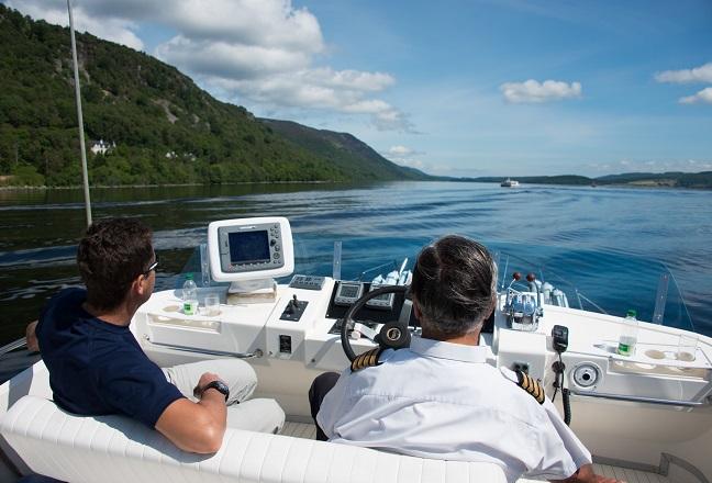 corporate travel scotland loch ness boat ride