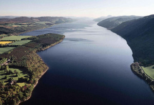 birds eye view Aldourie Castle Estate Loch Ness and Highlands| exclusive use | Loch Ness Gallery