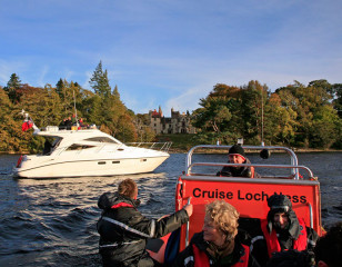 Boat cruises on Loch Ness
