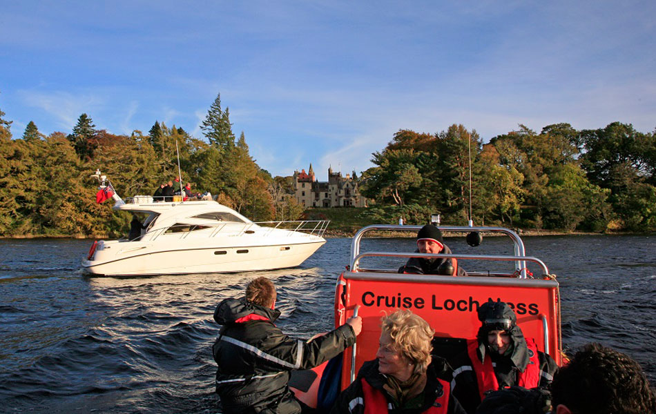 Loch Ness Boat Tours Aldourie Castle celebrities