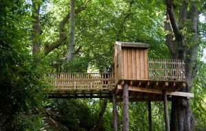 Aldourie Castle Estate treehouse