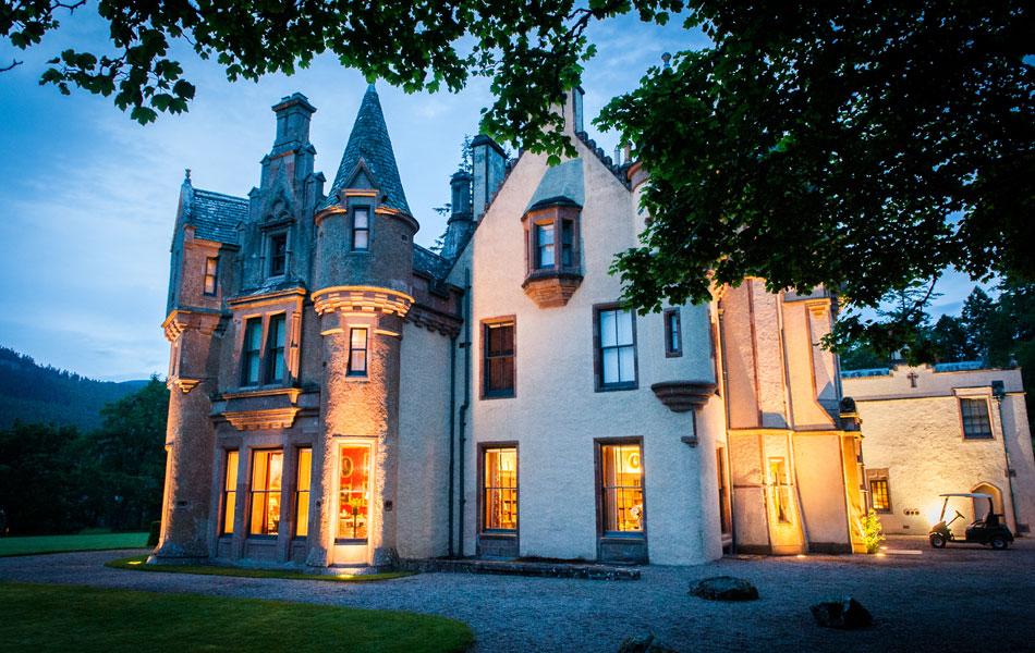 Castle-at-dusk - Luxury Family Holiday