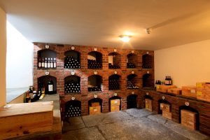 Luxury Exclusive Use Castles Wine Cellar