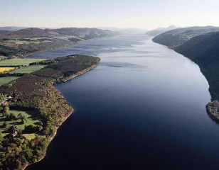 Loch Ness from Above