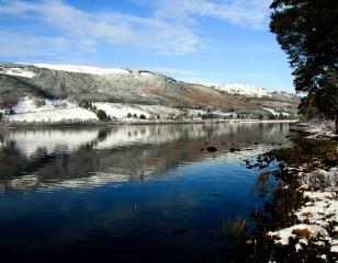 Loch Ness in winter