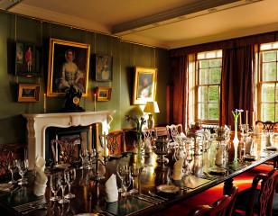 Aldourie Castle Dining Room
