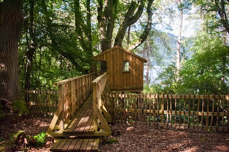 Aldourie Castle Estate Loch Ness treehouse Explore the Highlands