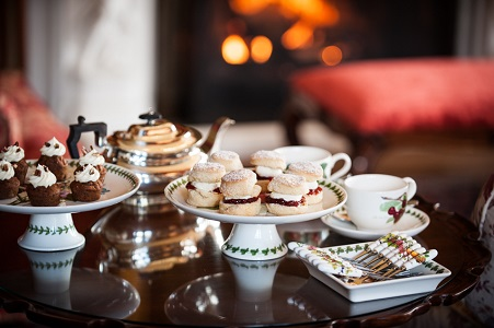 Aldourie Castle Exclusive Use Afternoon Tea Explore the Highlands