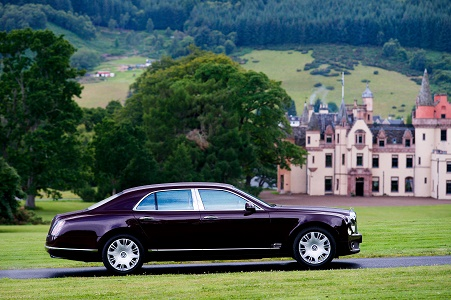 Corporate travel to Inverness Aldourie Castle Estate Heathrow to Inverness