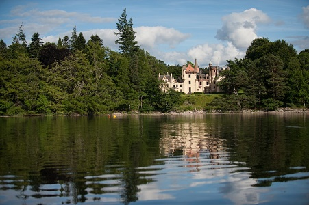 Aldourie Castle Loch Ness exclusive use venue