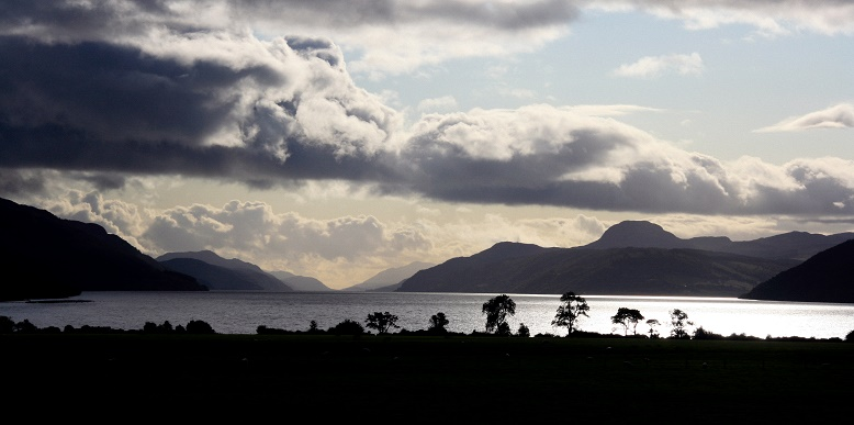 Loch Ness from Aldourie Castle estate