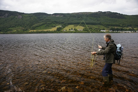 Fishing Holidays at loch Ness