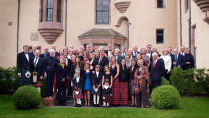 exclusive use family house party aldourie castle