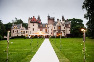 marquee wedding Aldourie Castle Estate