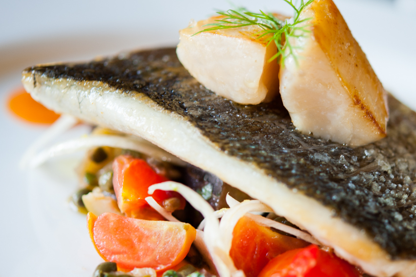 fish dish luxury exclusive use scotland - Aldourie grounds
