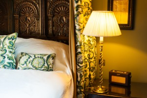 Four Poster Bed in the Castle