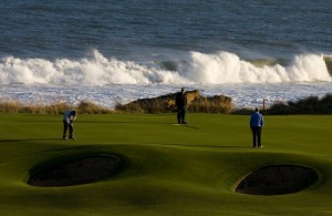 Royal Dornoch golfing