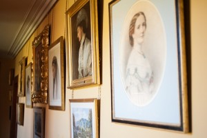 Paintings at Historic Aldourie Castle