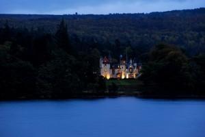 Aldourie Castle Overlooking Loch Ness