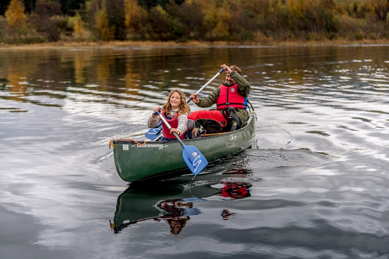 kayaking in Scotland |couples holiday on loch ness