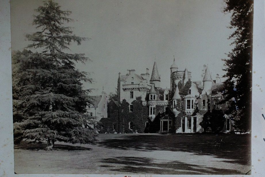 old photo Aldourie Castle Estate exterior stay in a castle