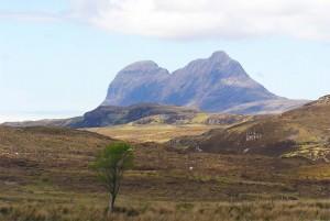 mountain landscape sutherland