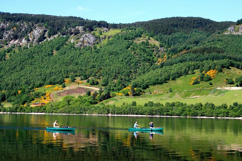 boat ride on Loch Ness
