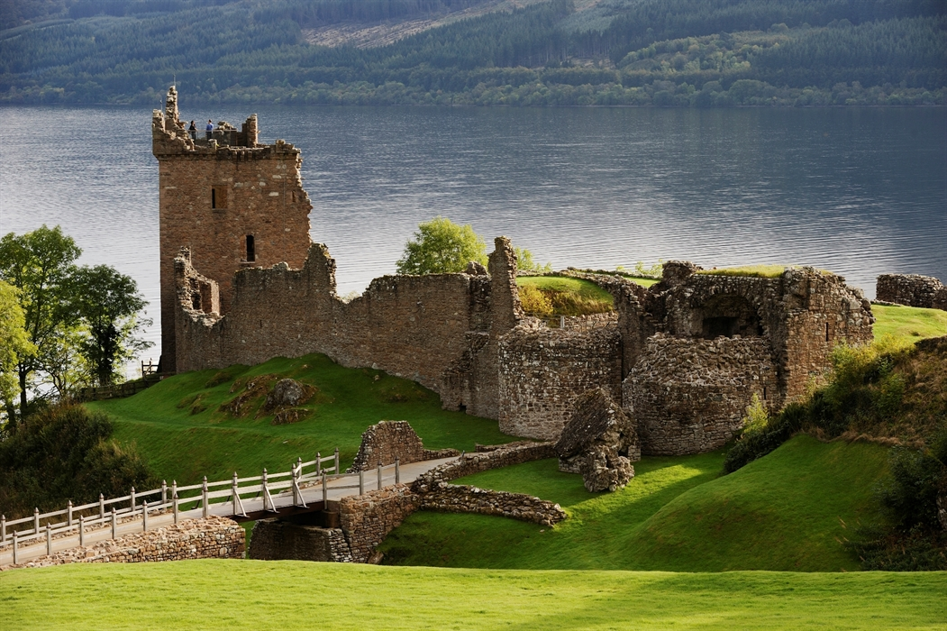 castle ruins of the Scottish Highlands
