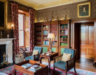 Aldourie Castle Library