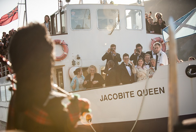 private house party boat hire scotland