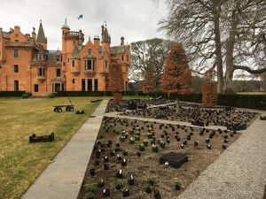 Aldourie Castle Estate gardening