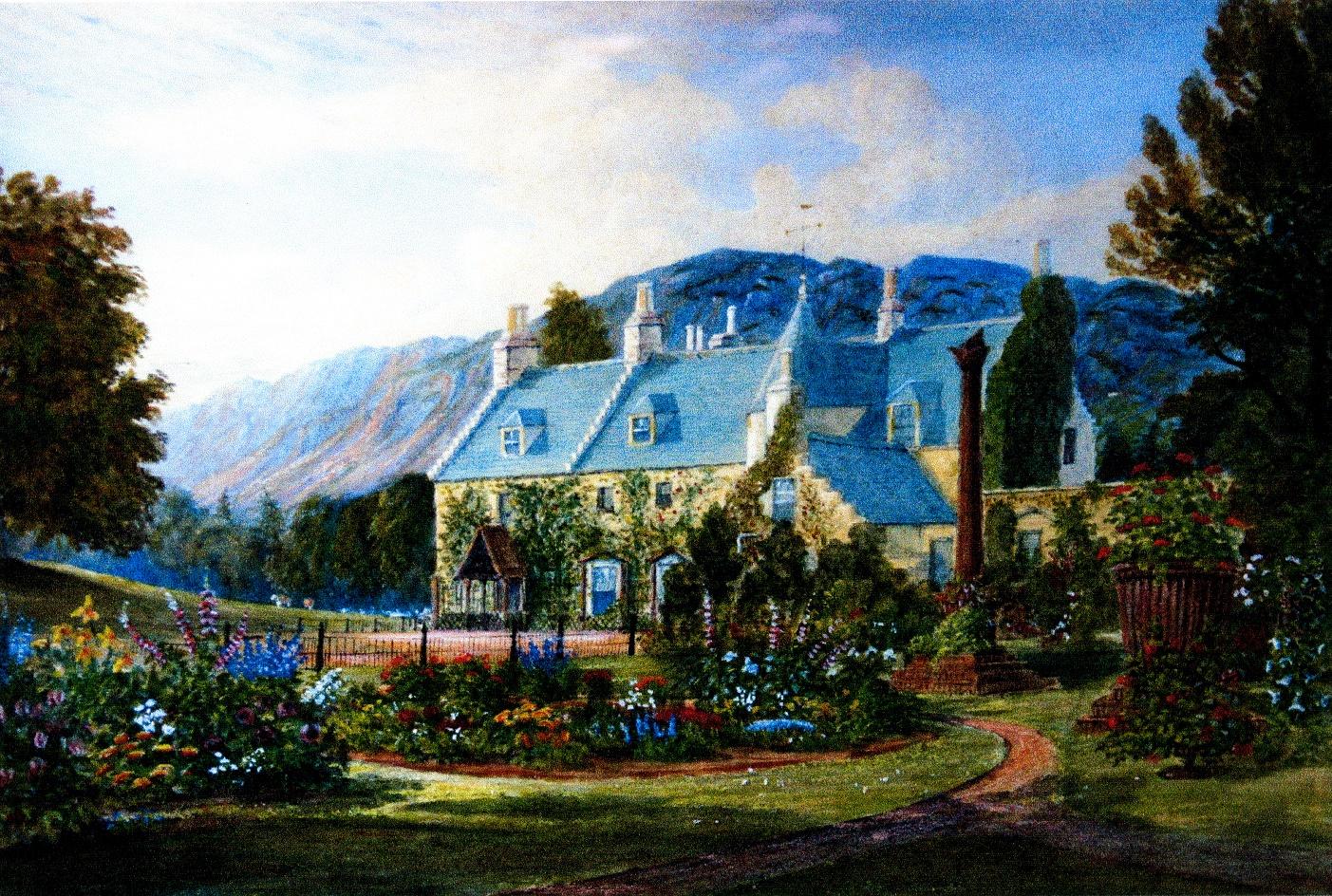 Victorian Garden Aldourie Estate