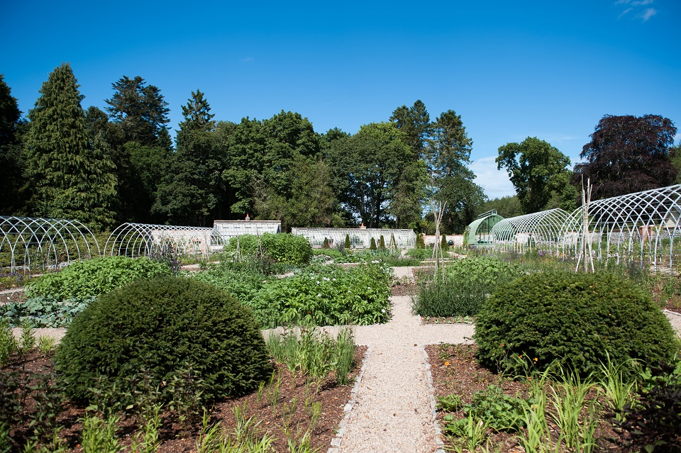 historic walled garden