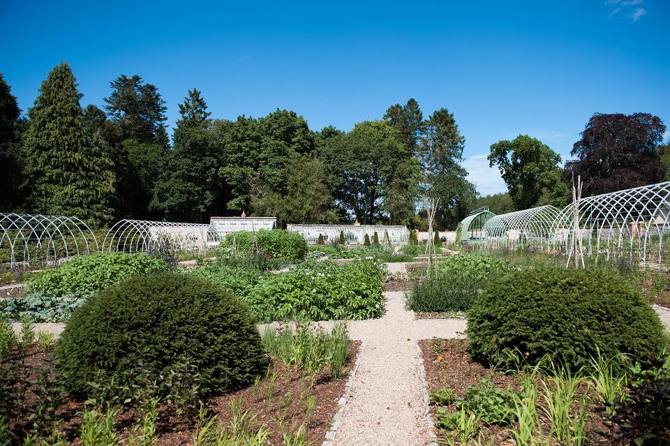 historic walled garden