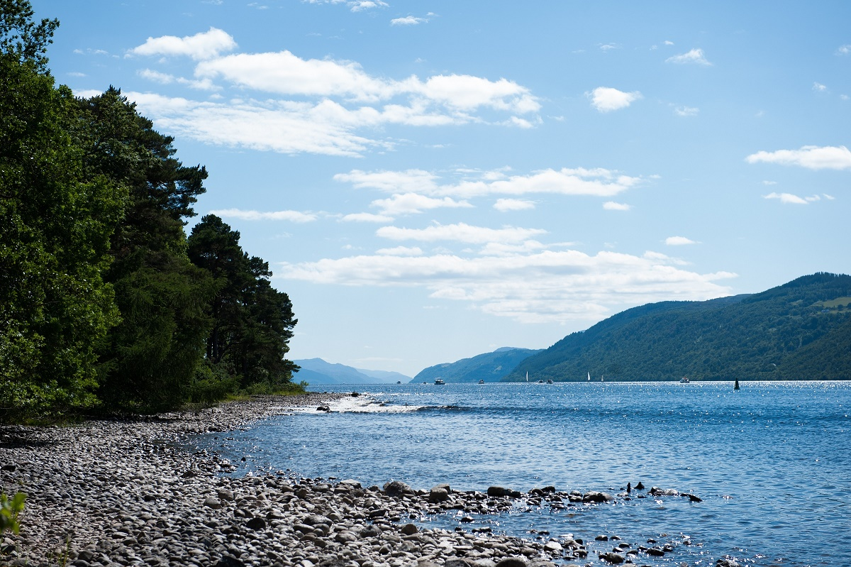 Hire an entire castle on the shores of Loch Ness
