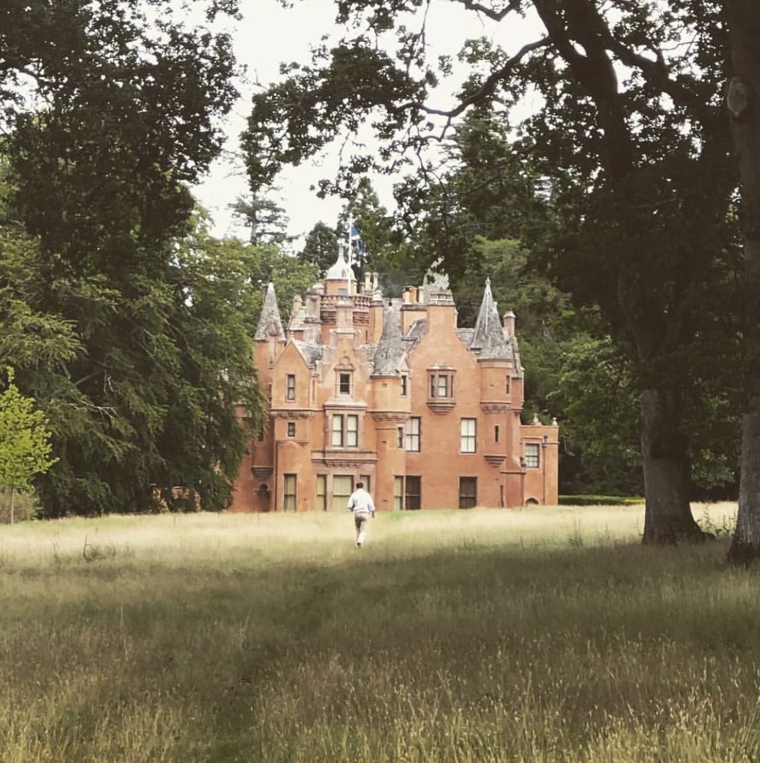 exclusive use Castle in Scotland