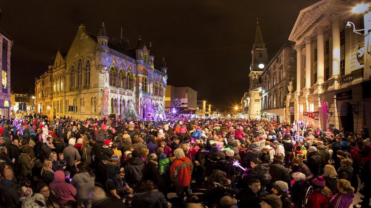 Image of Christmas in Inverness when you rent an entire castle.