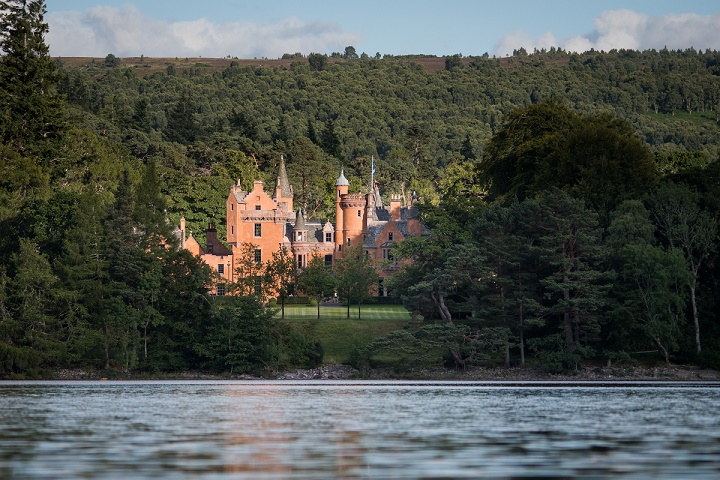 Stay in your own Scottish castle
