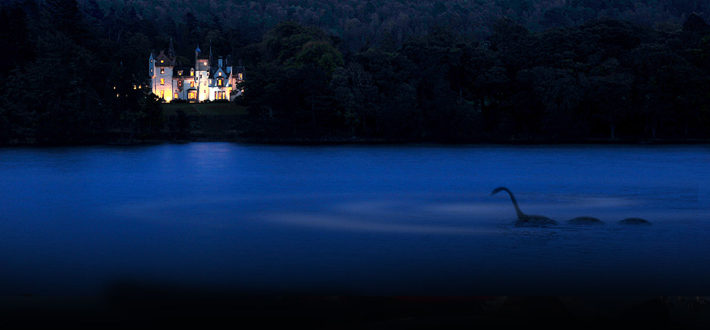 Aldourie Castle Nessie Loch Ness celebrities