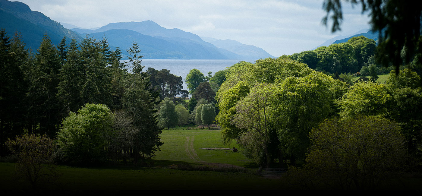 aldourie estate view loch ness summer